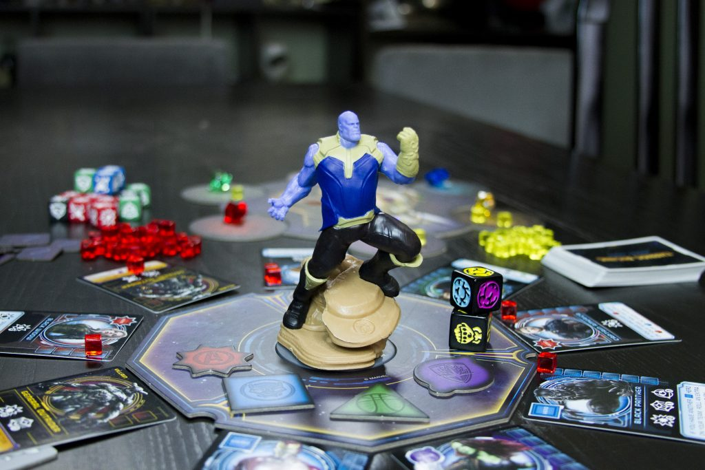 Thanos Rising board game review written