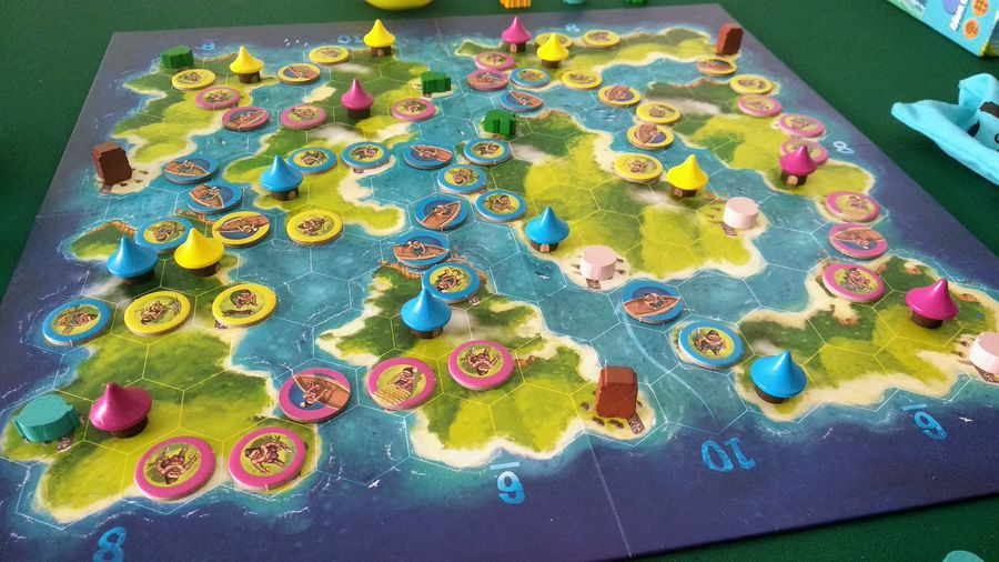 Blue Lagoon board game best game of 2018