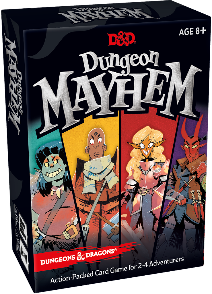 Dungeon Mayhem card game review Dungeons and Dragons card game