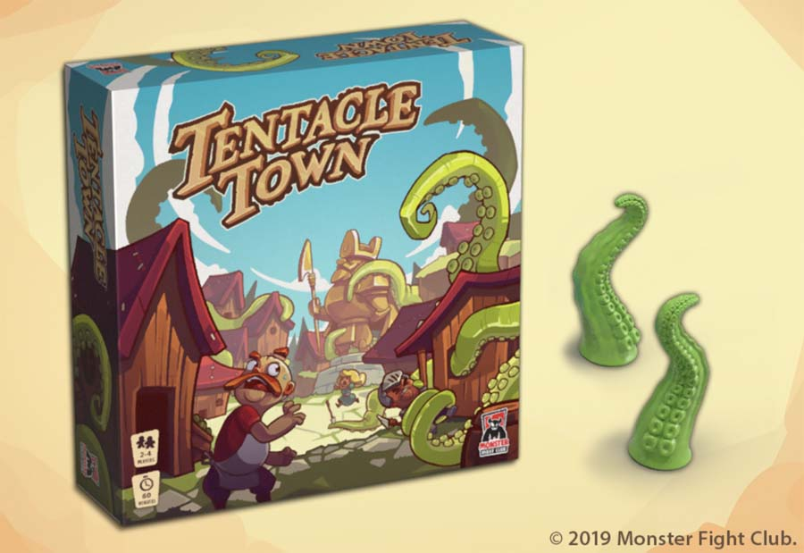 tantacle town monster fight club board game news