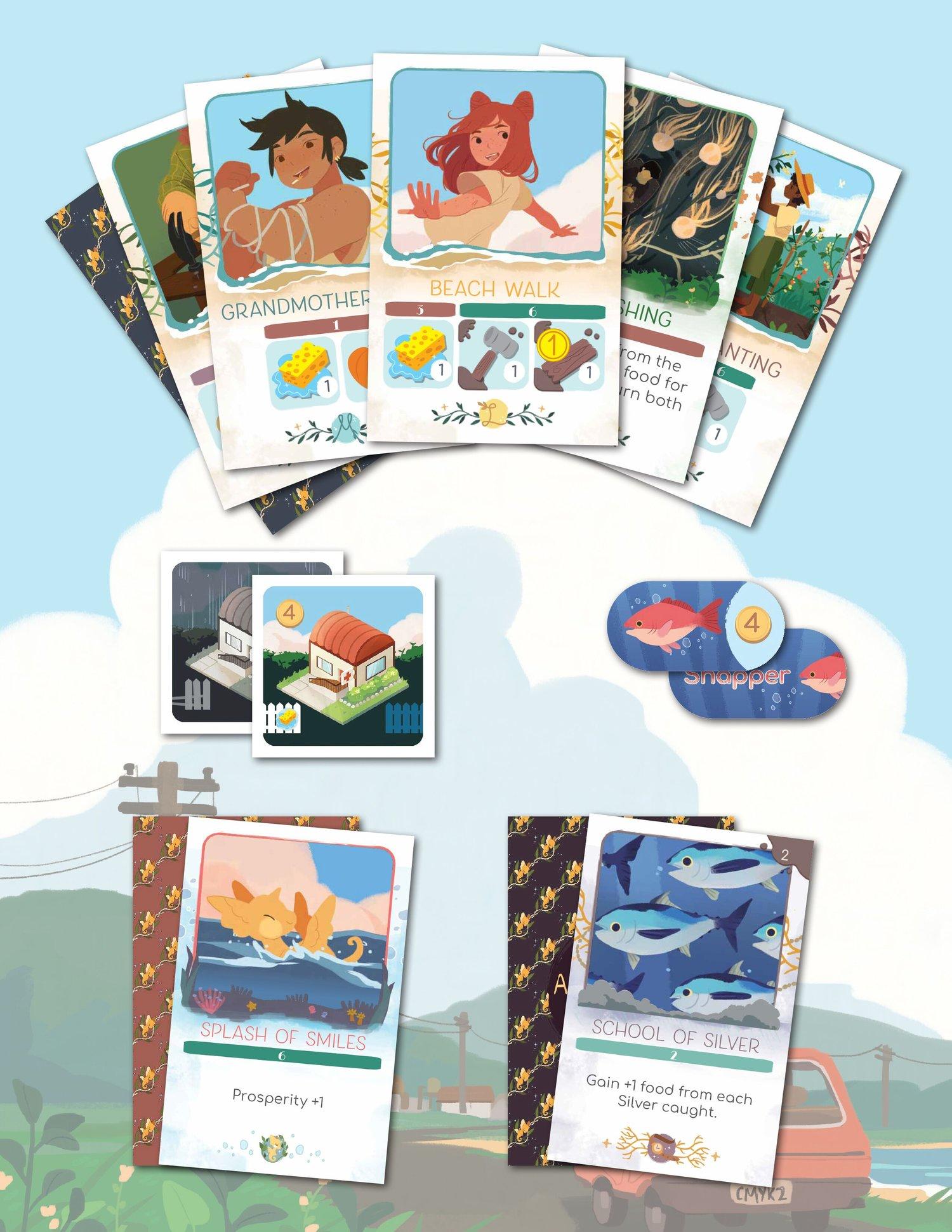 Aquicorn Cove board game from Renegade Game Studios